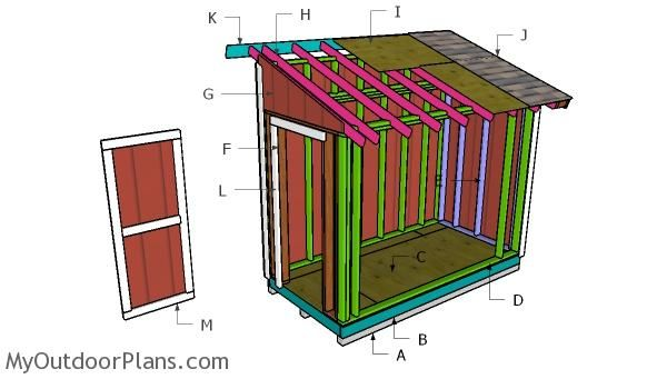 Building A 5x10 Lean To Shed Lean To Shed Lean To Shed Plans Shed Plans