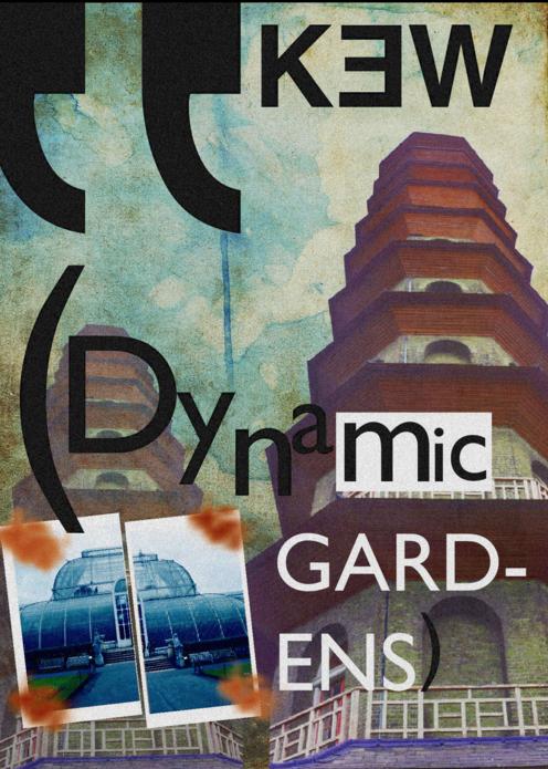 © Bryony Rogers David Carson Poster Design