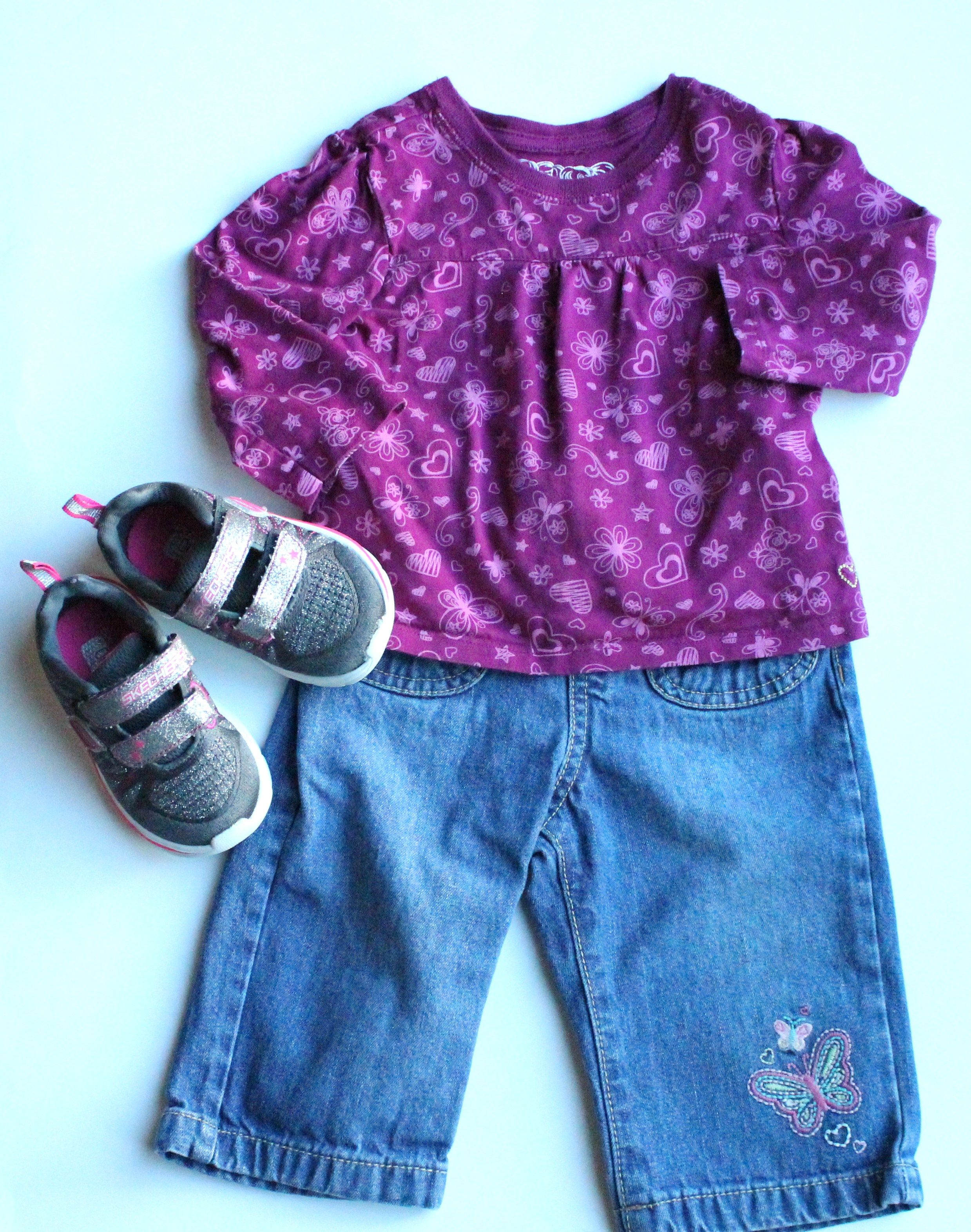 Osh Kosh Jeans Children S Place Top And Skechers Shoes All Items