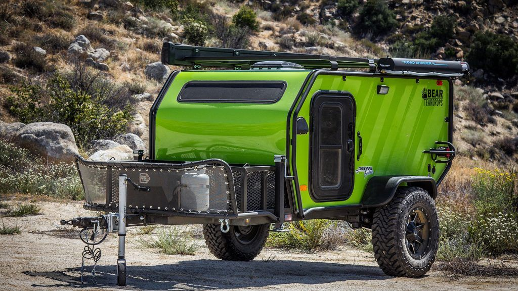 Bear Teardrop Trailers Are Built To Explore The Unexplored Small
