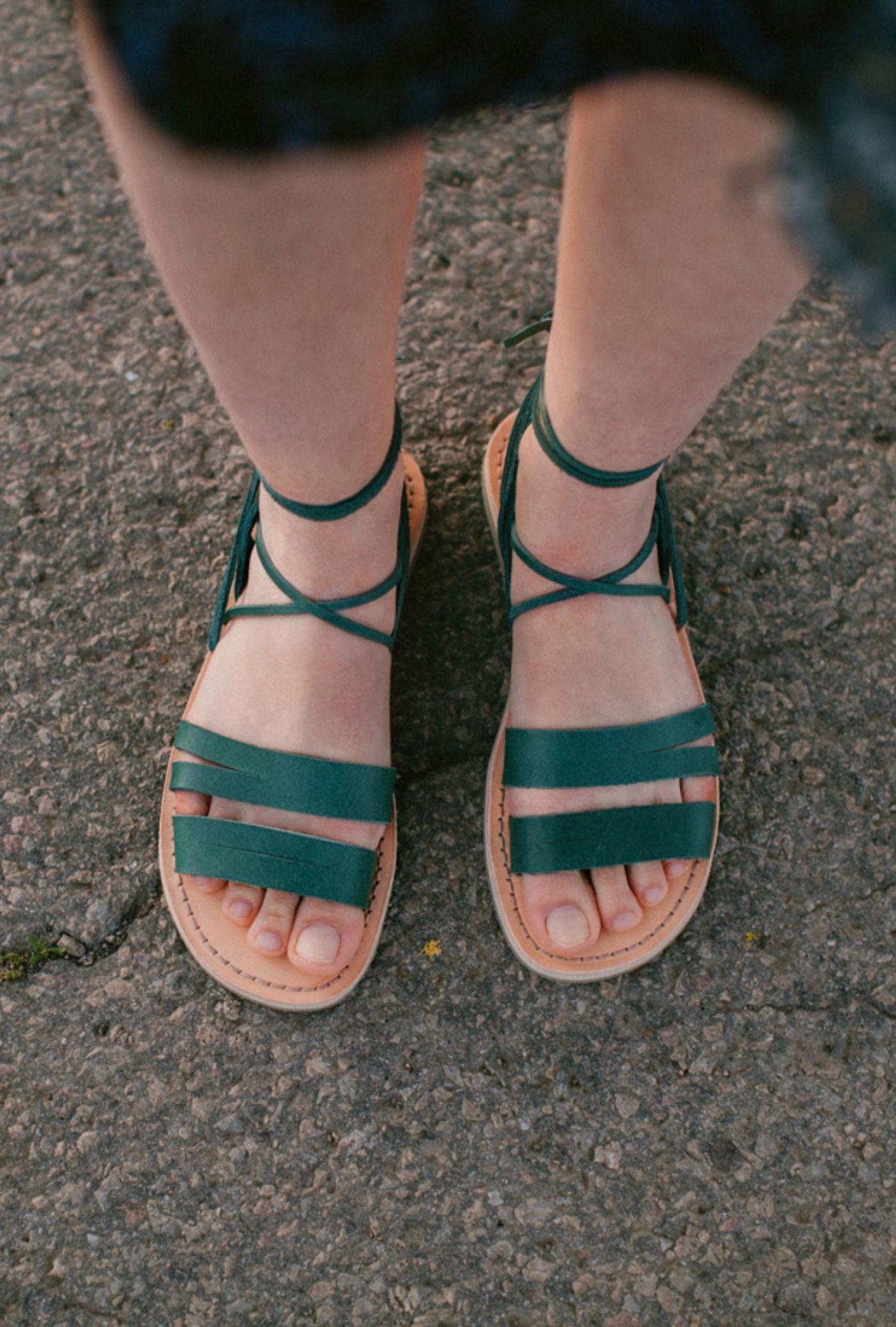 Positano Wrap Sandals   Wrap sandals, Gladiator sandals