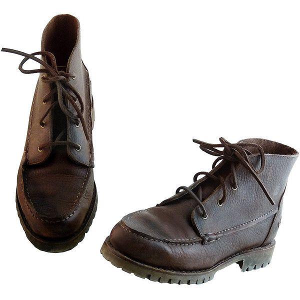 90s Ankle Desert Timberland Vintage Chukka Brown Redwood Boots AZR7qxO