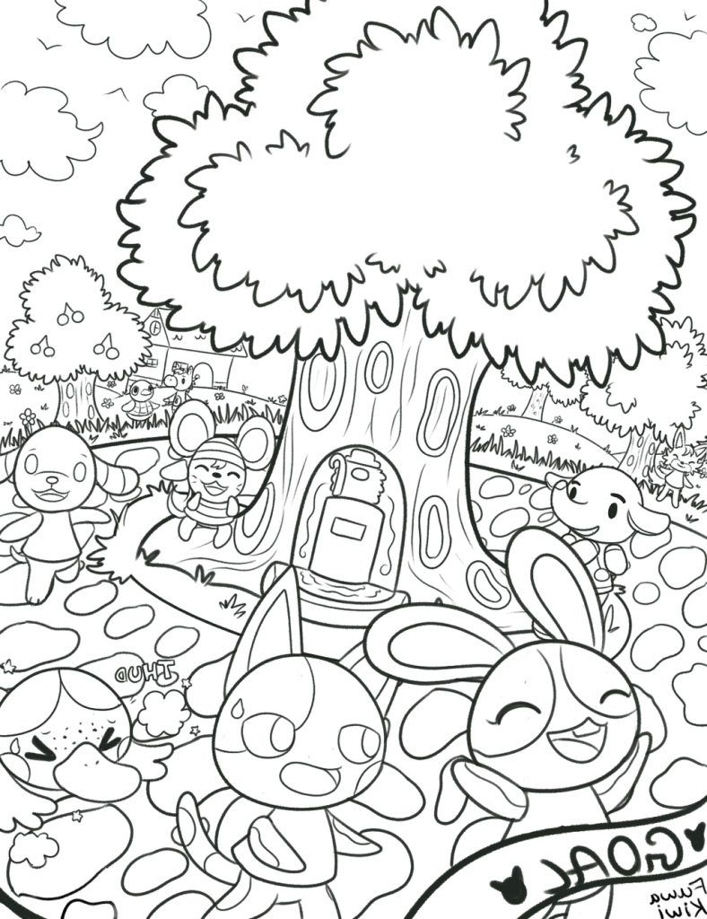 Pin by HappyKidsActivity on Animal Coloring Pages