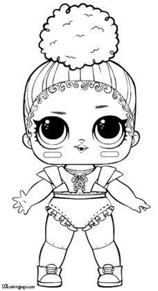 Скачать раскраски с куклами ЛОЛ. | Раскраски