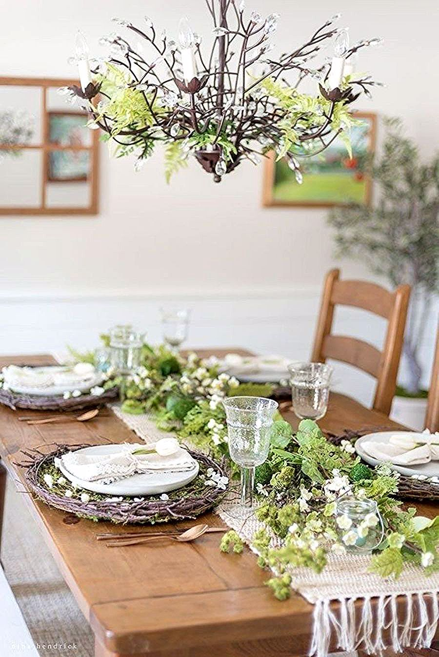For An Up And Coming Gathering Or To Just Put An Extra Component You Can Appreci In 2020 Farmhouse Table Centerpieces Dining Table Centerpiece Table Settings Everyday