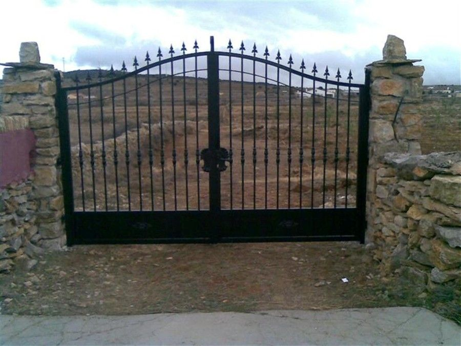 Resultado de imagen de puerta finca ganadera de hierro for Puertas para fincas