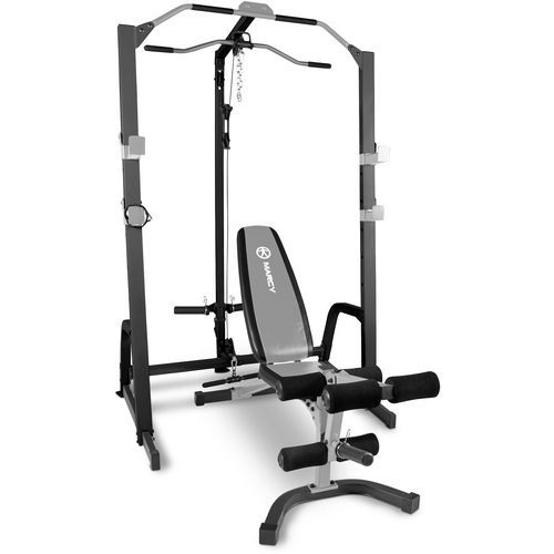 Marcy Pro Power Cage and Utility Bench Fitness Equipment Weight
