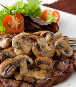 recipe: flank steak with mushroom ragout [11]