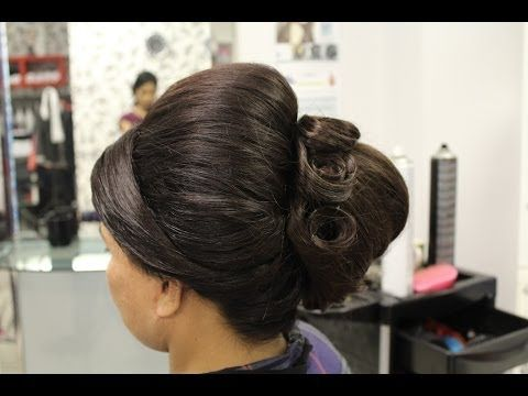 Beehive Hairstyle Indian Pakistani Asian Bridal Hair Style Wedding Hairstyles For Short Hair Hair Styles Wedding Hairstyles Videos Asian Bridal Hair