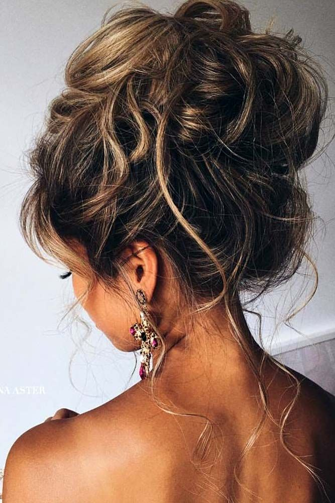 60 Sophisticated Prom Hair Updos Lovehairstyles Com Hair Styles Messy Wedding Hair Hair Styles 2017