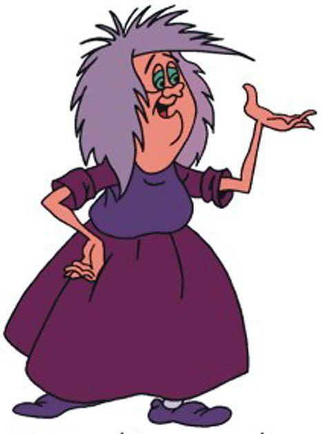 Madame Mim Personagens Desenhos Golas