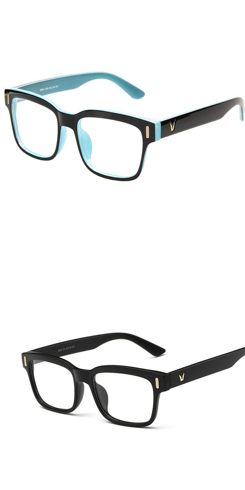 c3a340f6efe Newv shaped box eyeglasses frame brand for women fashion men optical eye  glasses frame eyewear jpg