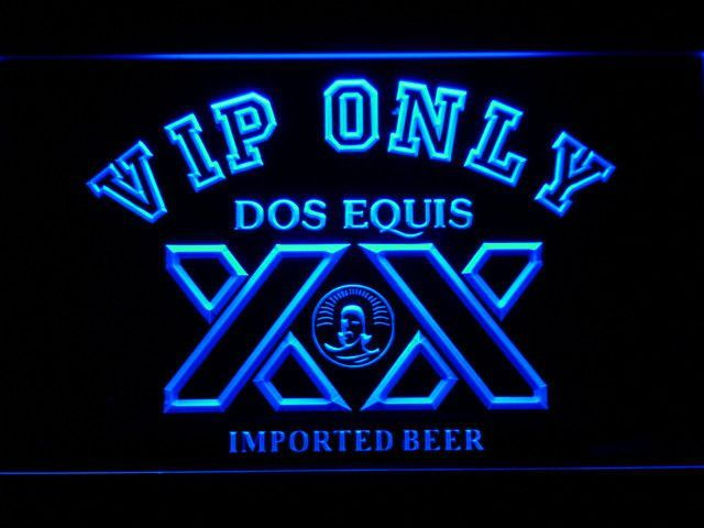 Dos Equis VIP Only LED Neon Sign