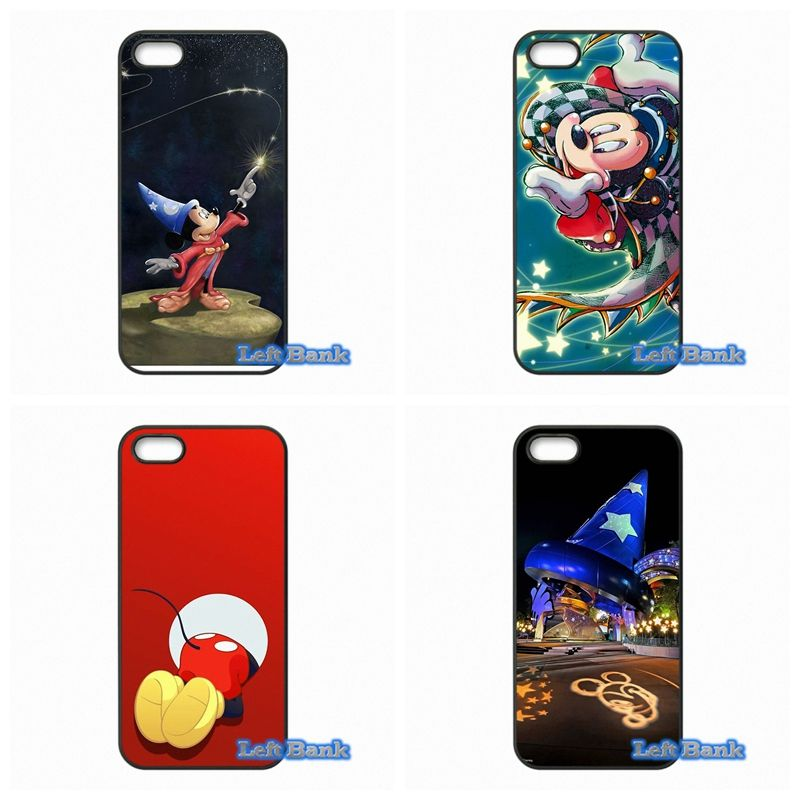 Cover For Samsung Galaxy A3 A5 A7 A8 A9 Pro J1 J2 J3 J5 J7 2015 2016 Coque Sorcerer Mickey Mouse Hard Phone Case
