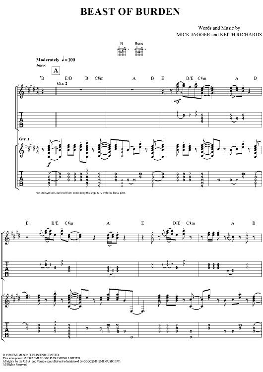 Beast of Burden | Music | Pinterest | Beast, Pianos and Rolling stones