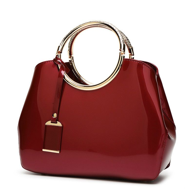 Monnet Cauthy Bags Women Solid Color Navy Blue Pink Wine Red