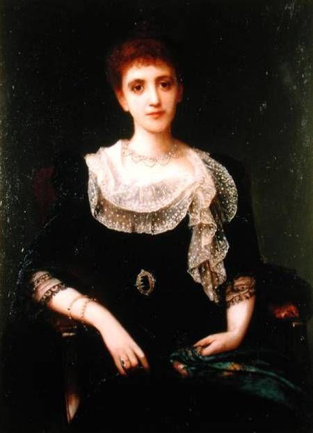 Portrait of a Lady - Charles Edward Halle