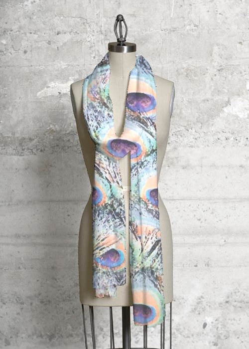 Modal Scarf - Touch of a Feather-M by VIDA VIDA