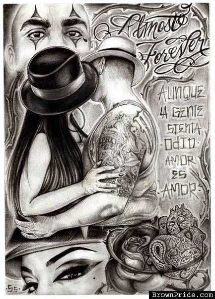 The best chicano brown pride art chicano art more in - Chicano pride images ...