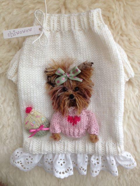 MIA BELLA TINER!!! <3 | Tricot | Pinterest | Hunde, Handarbeiten und ...