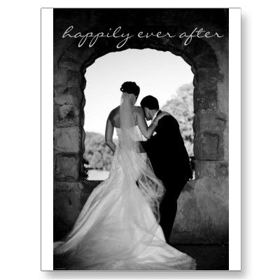 Wedding Thank You Note Postcard by stacabase