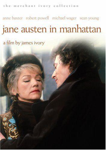 Jane Austen In Manhattan The Merchant Ivory Collection With Images Anne Baxter Jane Austen