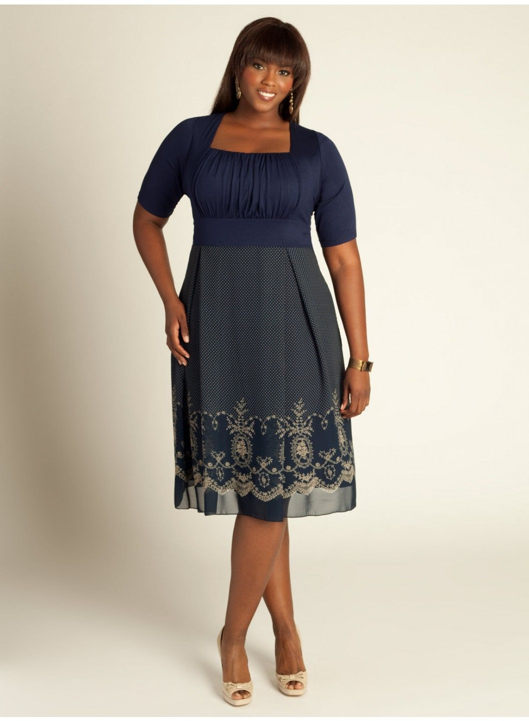 Hayleigh Dress In Midnight Blue Pretty Dont Want To Forget