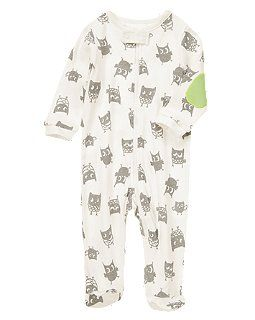 Owl Footed One-Piece