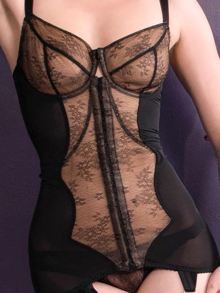 7b77ab29646 Combining serious body shaping with vintage glamour, our Veronika Body  Briefer is made from corsetry powermesh to firmly shape your curves.