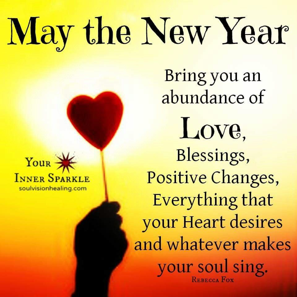 Happy New Year 2016 A Wish For Familyfriends Blessing New Year