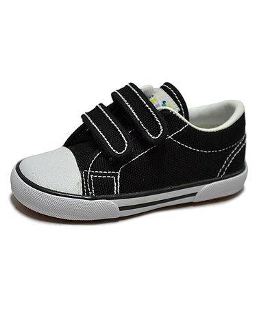 Love this Black Skippy-V Canvas Sneaker