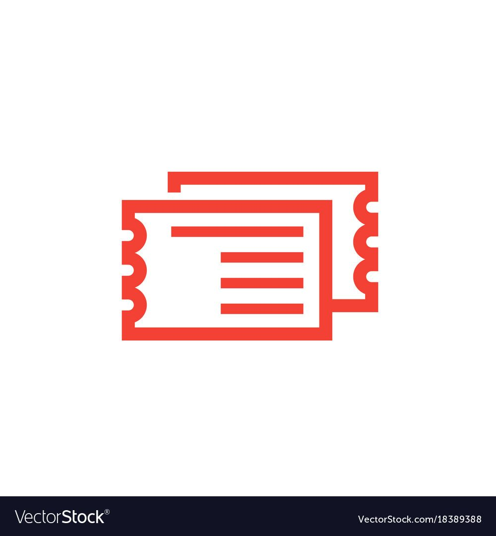 Tickets Icon On White Royalty Free Vector Image Affiliate White Icon Tickets Royalty Ad Vector Free Free Vector Images Vector