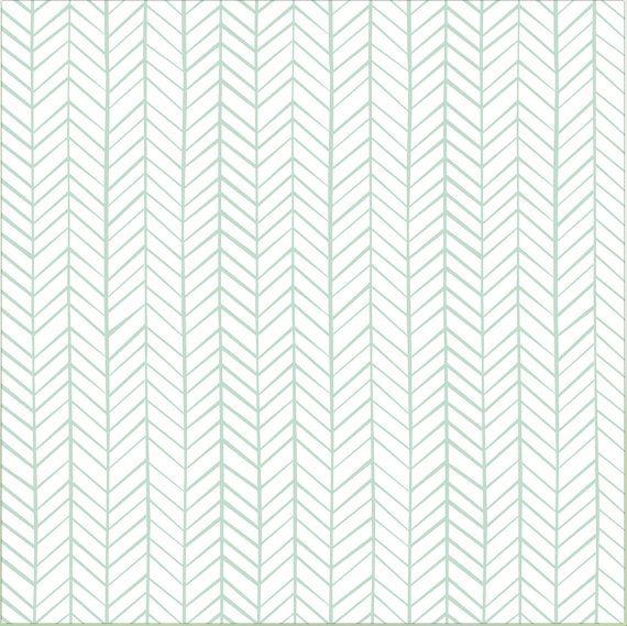 Large Herringbone Peel And Stick Wallpaper