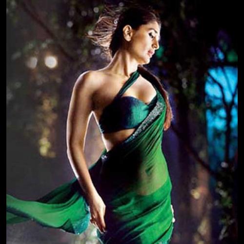 SimpleSarees Kareena Kapoor Bodyguard Green Replica Saree ...