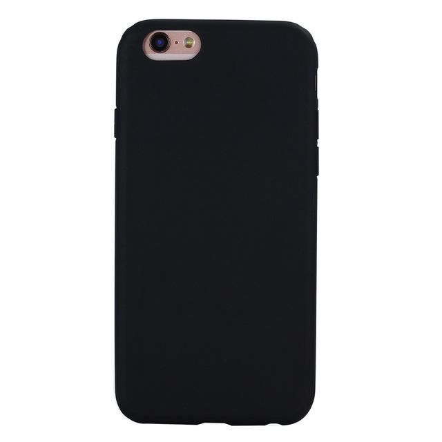 Silicone Frosted Matte Case For Iphone Soft Colors Silicone Iphone Cases Silicone Phone Case Iphone Cases