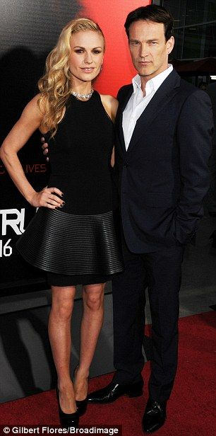 True Love Anna Paquin Vamps It Up With Husband Stephen