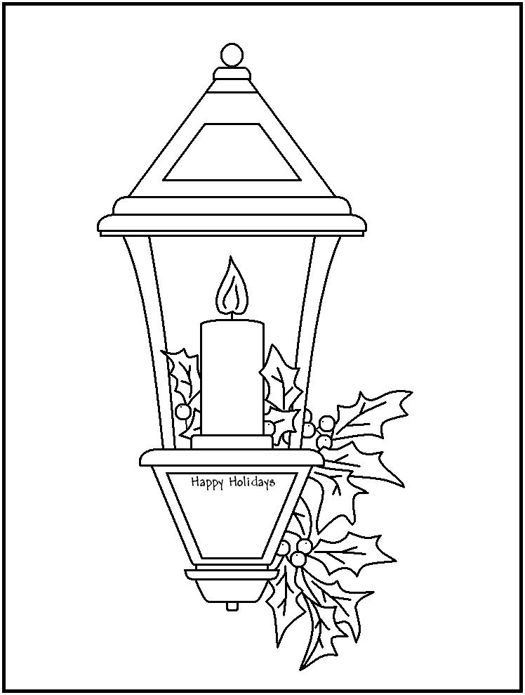Faire une lanterne weihnachten pinterest lanterne coloriage et colorier - Fabriquer une lanterne ...