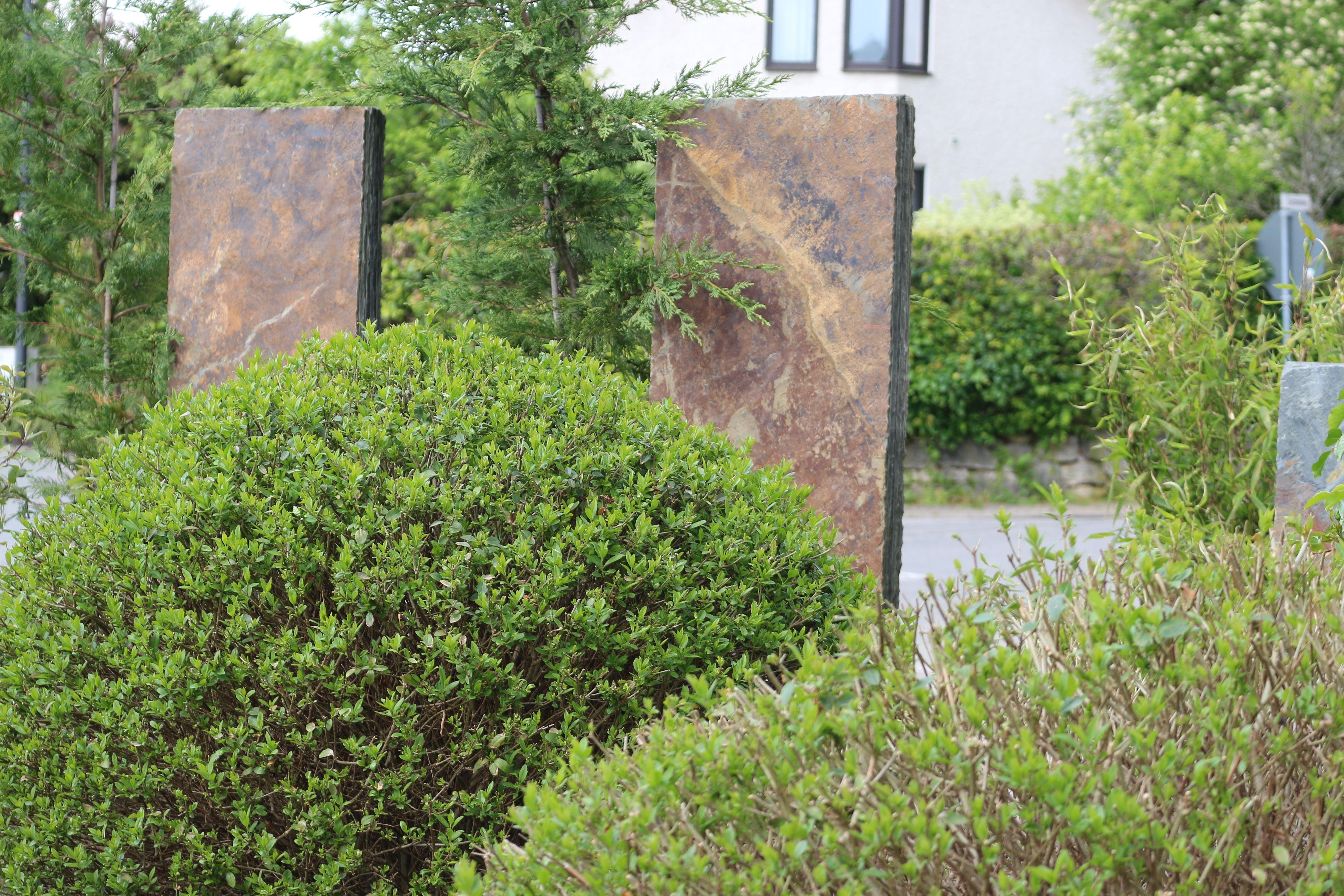 Schiefer als Sichtschutz Eine Referenz der RAUCH Garten und