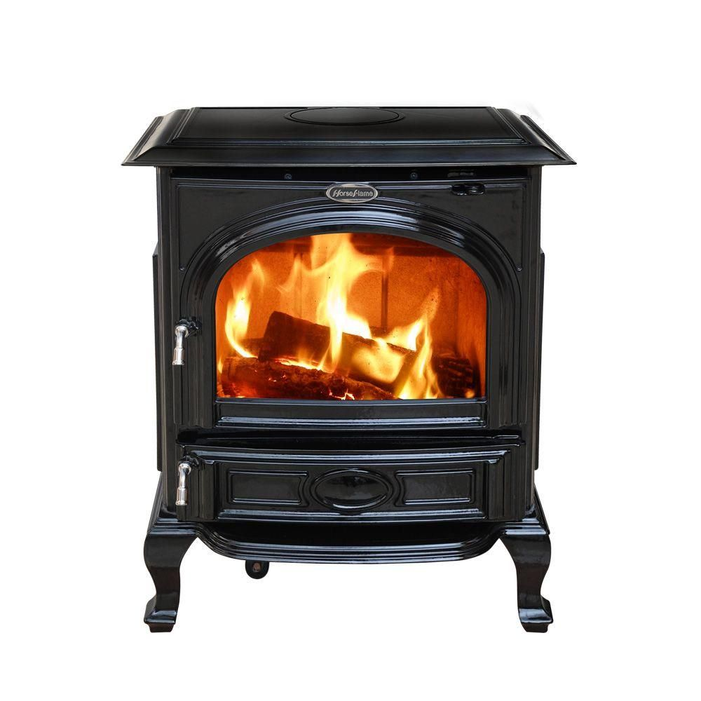 Appaloosa Enamel Medium Wood Burning Stove