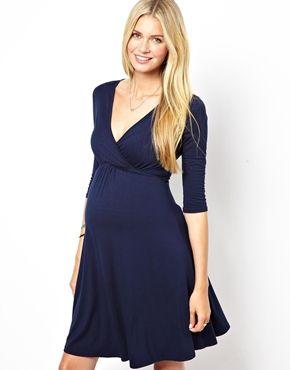 Kate Thomas Maternity Wrap Dress   baby   Pinterest   Future baby ...