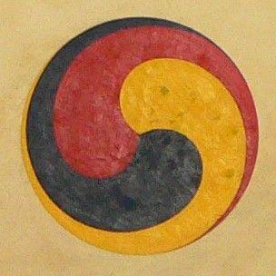 Gankyil wikipedia the free encyclopedia tantra mantra mudra gankyil wikipedia the free encyclopedia malvernweather Images