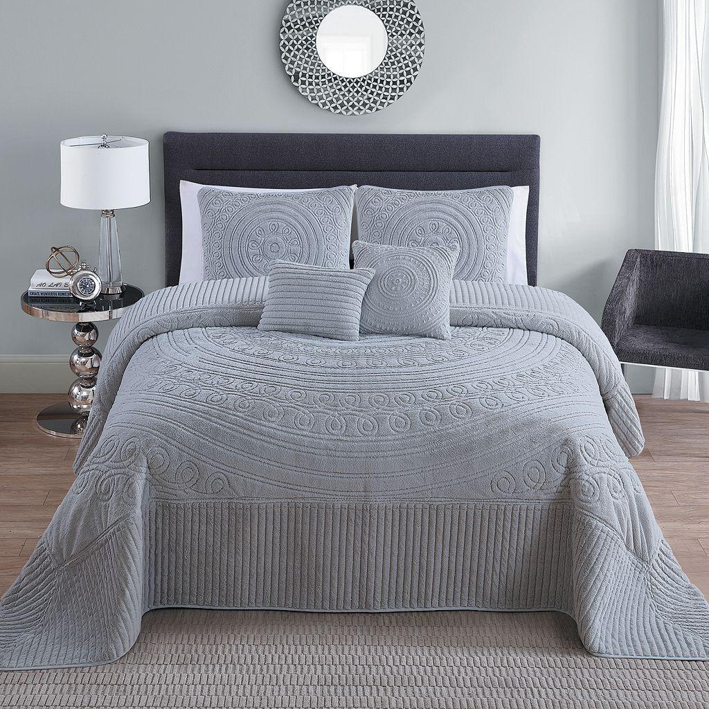 VCNY Hilltop 5piece Bedspread Set Bed spreads