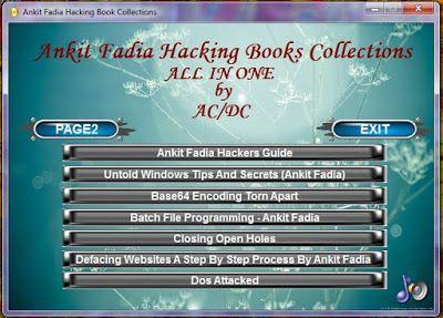 Ankit Fadia Book Pdf