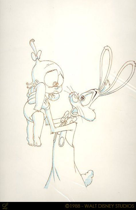 Living Lines Library: Who Framed Roger Rabbit (1988) - Character Design