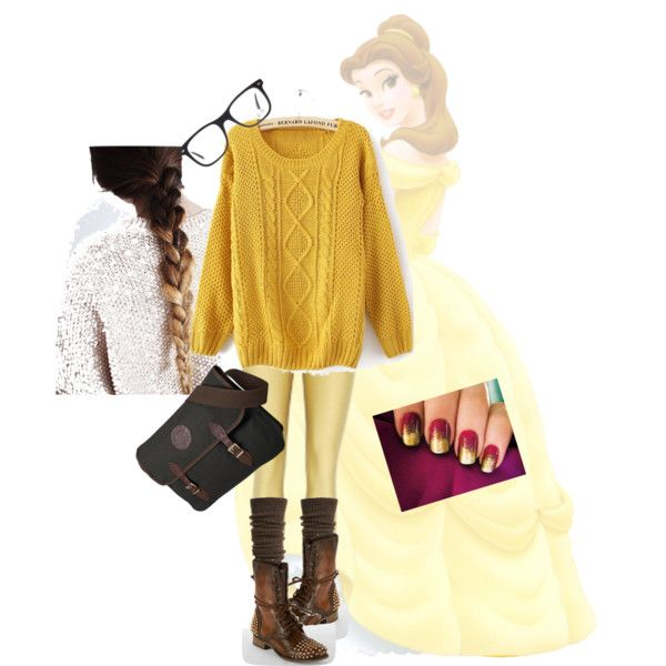 Disney Inspired Outfits Belle My modern day Belle | ...