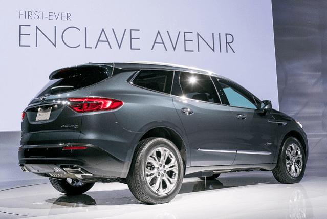 2020 Buick Enclave Changes Avenir Release Date Buick Enclave New Suv Suv Models