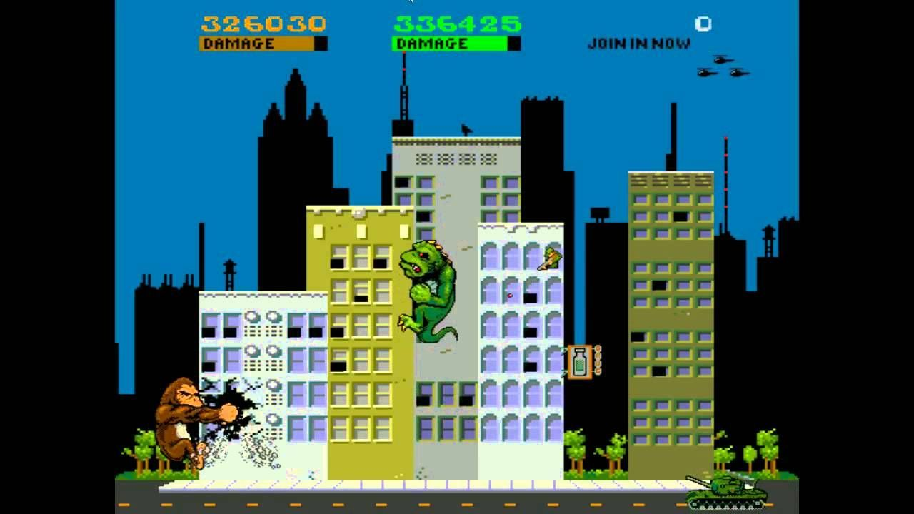Rampage Was One Of My All Time Favorite Games Of The Coin Op World