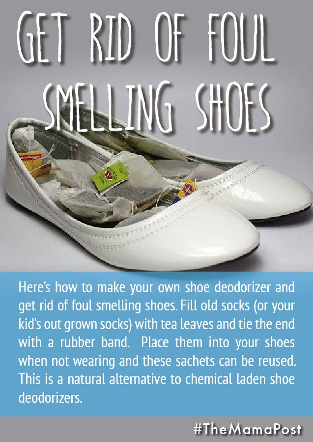 Get Rid Of Foul Smelling Shoes Here S How To Make Your Own Shoe