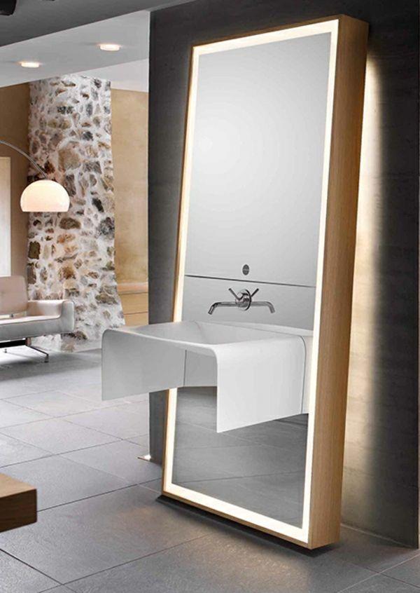 großer-spiegel-im-modernen-badezimmer | Mirrors | Pinterest | großer ...