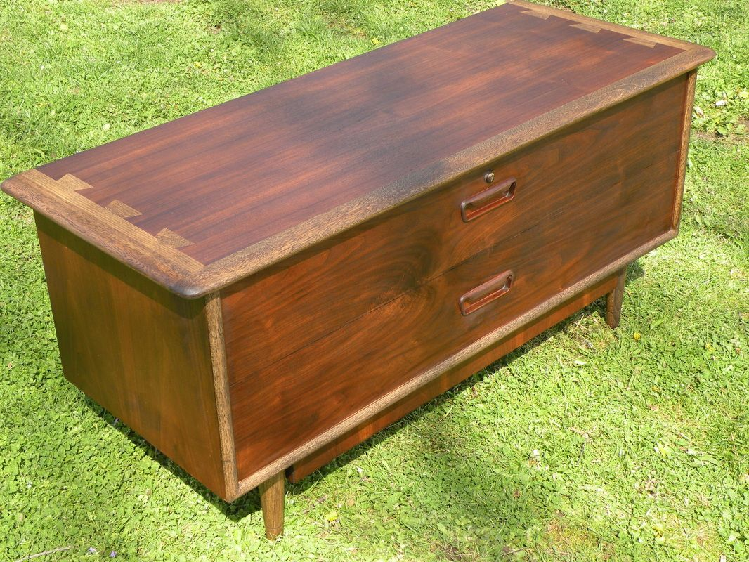 Home Is Where It Really Begins Cedar Chest Cedar Antique